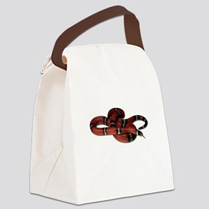 FIN-milk-snake2 Canvas Lunch Bag