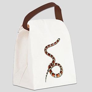 FIN-milk-snake Canvas Lunch Bag
