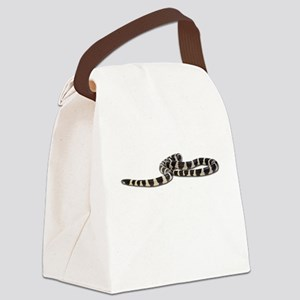 FIN-king-snake Canvas Lunch Bag