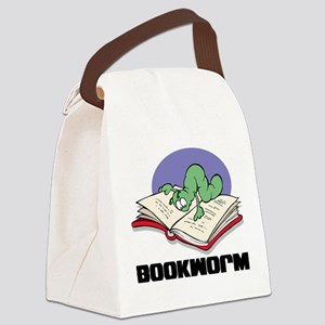 FIN-bookworm Canvas Lunch Bag