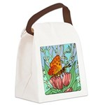 butterfly-6 Canvas Lunch Bag