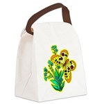 butterfly-3 Canvas Lunch Bag