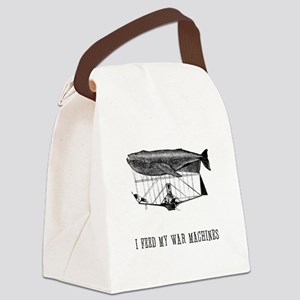 war-machine-feed Canvas Lunch Bag