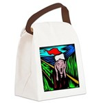 the-scream.jpg Canvas Lunch Bag