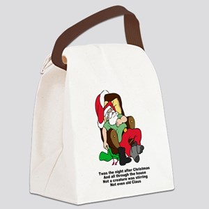 FIN-night-after-christmas Canvas Lunch Bag