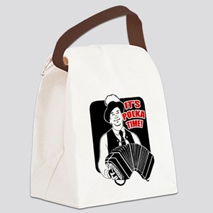 FIN-its-polka-time Canvas Lunch Bag