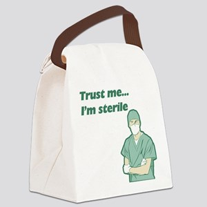 FIN-trust-me-sterile Canvas Lunch Bag