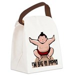 FIN-big-in-japan Canvas Lunch Bag