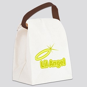FIN-lil-angel Canvas Lunch Bag
