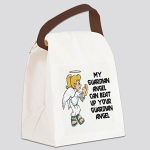 FIN-guardian-angel-blonde Canvas Lunch Bag