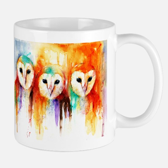 Row of Owls ~ Mug