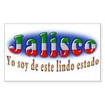 Jalisco, Lindo Estado Sticker (Rectangle 50 pk)