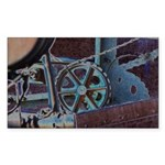 Solar Steampunk Sticker (Rectangle 50 pk)