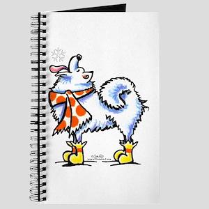 Samoyed Eskie Snowflake Journal