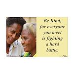 'Be Kind' Mini Poster Print