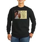 'Be Kind' Long Sleeve Dark T-Shirt