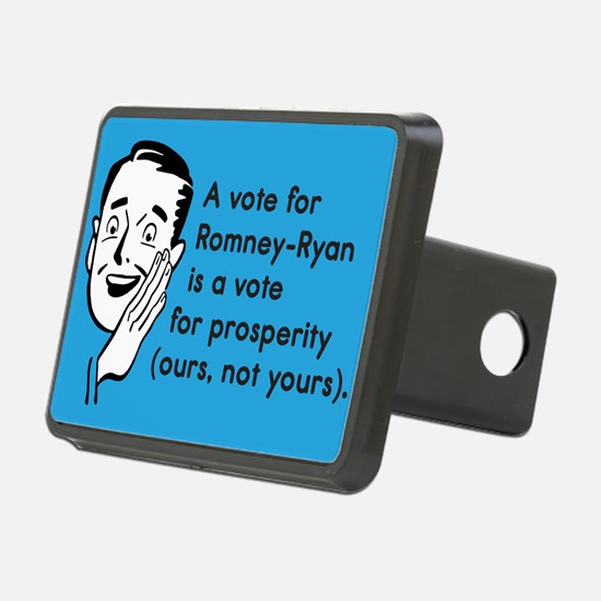 Vote Their Prosperity Hitch Cover
