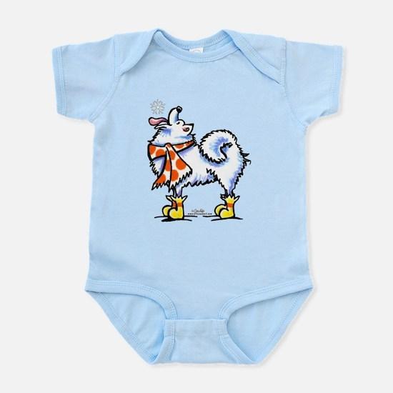 Samoyed Snowflake Infant Bodysuit