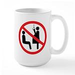 Reserved seat Large Mug