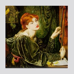 Veronica Veronese by Rossetti Tile Coaster