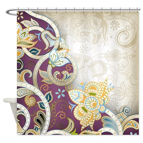 vintage pattern shower curtain by bestshowercurtains 87973