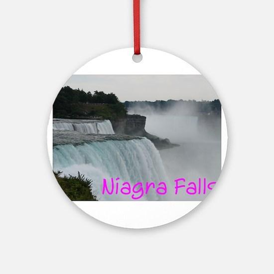 NIAGRA FALLS X™ Ornament (Round)