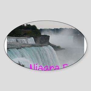 NIAGRA FALLS X™ Sticker (Oval)