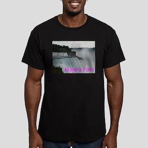 NIAGRA FALLS X™ Men's Fitted T-Shirt (dark)