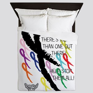 Cancer more than one Queen Duvet