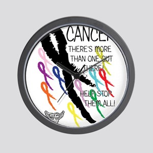 Cancer more than one Wall Clock