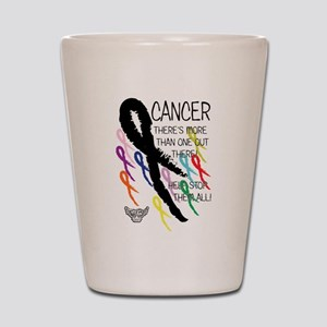 Cancer more than one Shot Glass