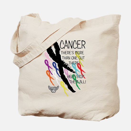 Cancer more than one Tote Bag