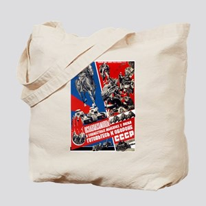 Red Army of Workers and Peasa Tote Bag