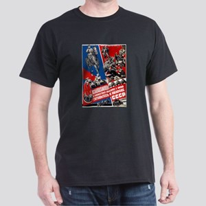 Red Army of Workers and Peasa Black T-Shirt