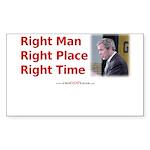 10x8_RightMan            Sticker (Rectangle 50 pk)