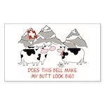 Big Butt Sticker (Rectangle 50 pk)