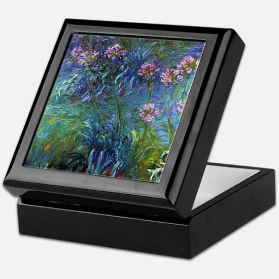 Claude Monet Jewelry Lilies Keepsake Box