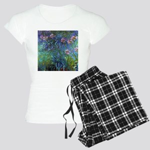 Claude Monet Jewelry Lilies Women's Light Pajamas