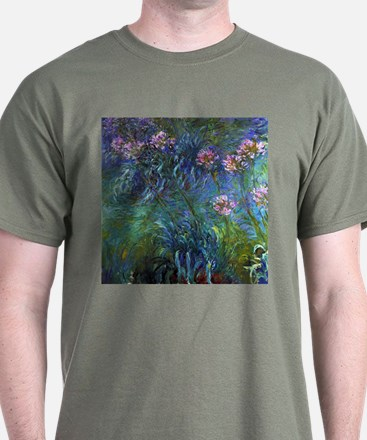 Claude Monet Jewelry Lilies T-Shirt