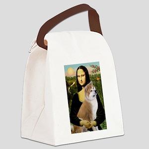 5.5x7.5-Mona-Akita3 Canvas Lunch Bag