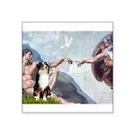 Creation - Australian Shep2 Square Sticker 3