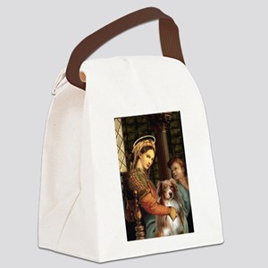 Madonna-Aussie Shep #4 Canvas Lunch Bag