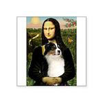 MonaLisa-Tri Aussie Shep2 Square Sticker 3