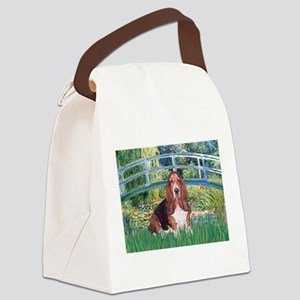 Lily Bridge Basset Canvas Lunch Bag