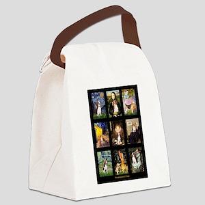 Beagle Famous Art--V Canvas Lunch Bag