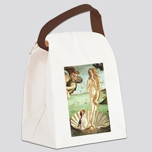 Venus & Beagle Canvas Lunch Bag