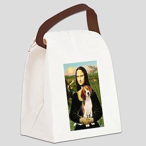 Mona's Beagle #1 Canvas Lunch Bag