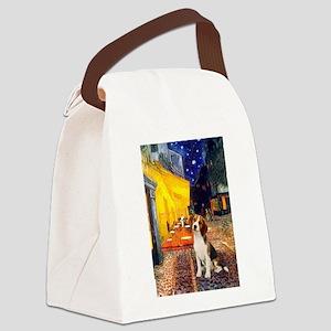 Cafe & Beagle Canvas Lunch Bag