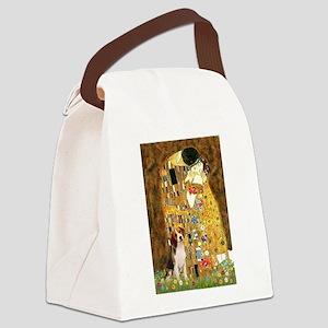 The Kiss & Beagle Canvas Lunch Bag