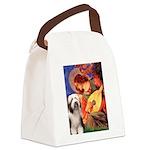 Mandolin / Beardie #1 Canvas Lunch Bag